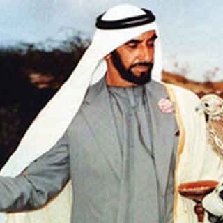 خلفيات الشيخ زايد