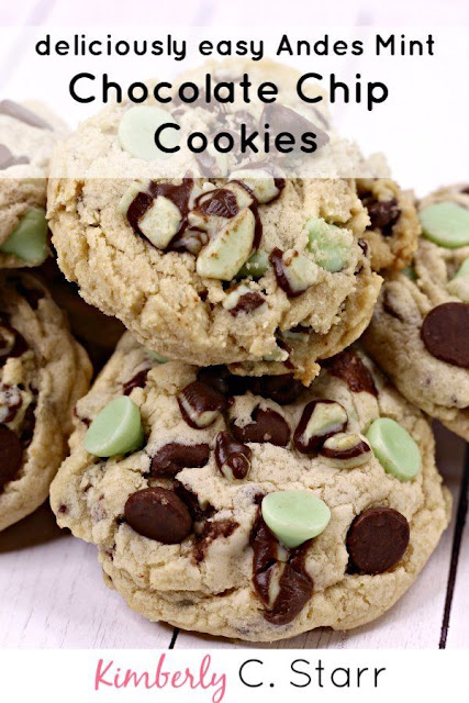 Andes mint chocolate chip cookie recipe.
