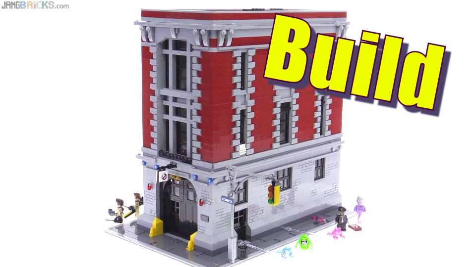 Lego Ghostbusters Firehouse Headquarters Speedy Build Videos