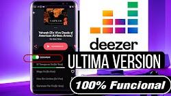 DEEZER ÚLTIMA VERSIÓN / DESCARGA MÚSICA + MODO OFFLINE FUNCIONANDO