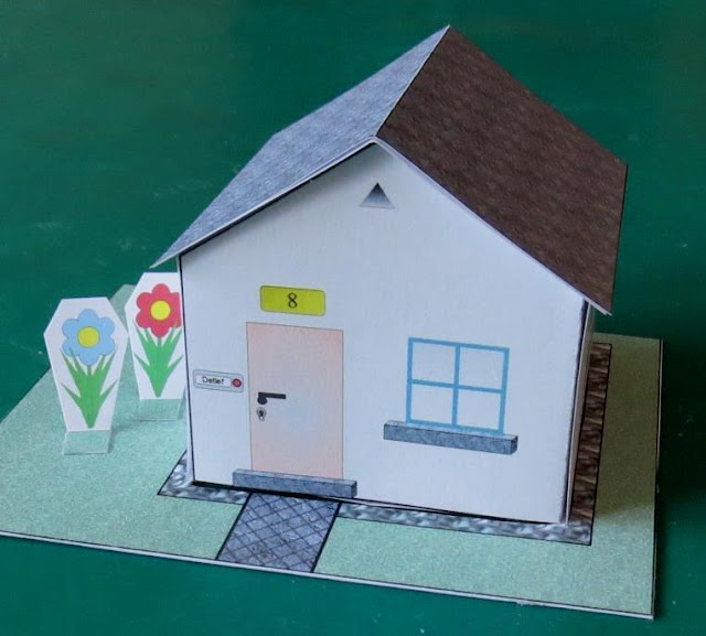 Papermau A Foldable House Paper Model For Kids By Projekt