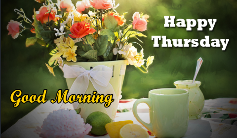854 Latest Unique Good Morning Thursday Hd Pictures Photos Images And Pics