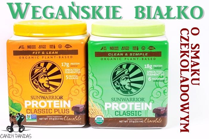 Wegańskie białko o smaku czekoladowym – Siła Roślin