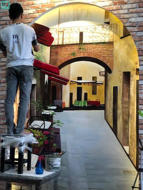 Tranh tường đẹp nhất tại Thủ Dầu Một