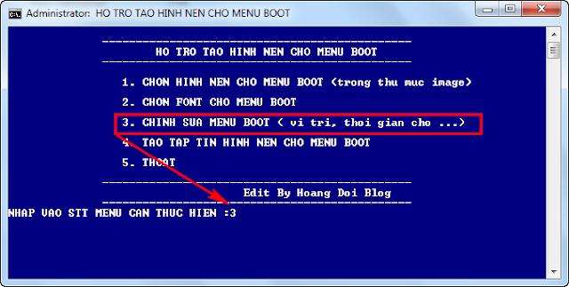 Cách đổi hình nền usb boot Grub4dos - usbhddboot.xyz