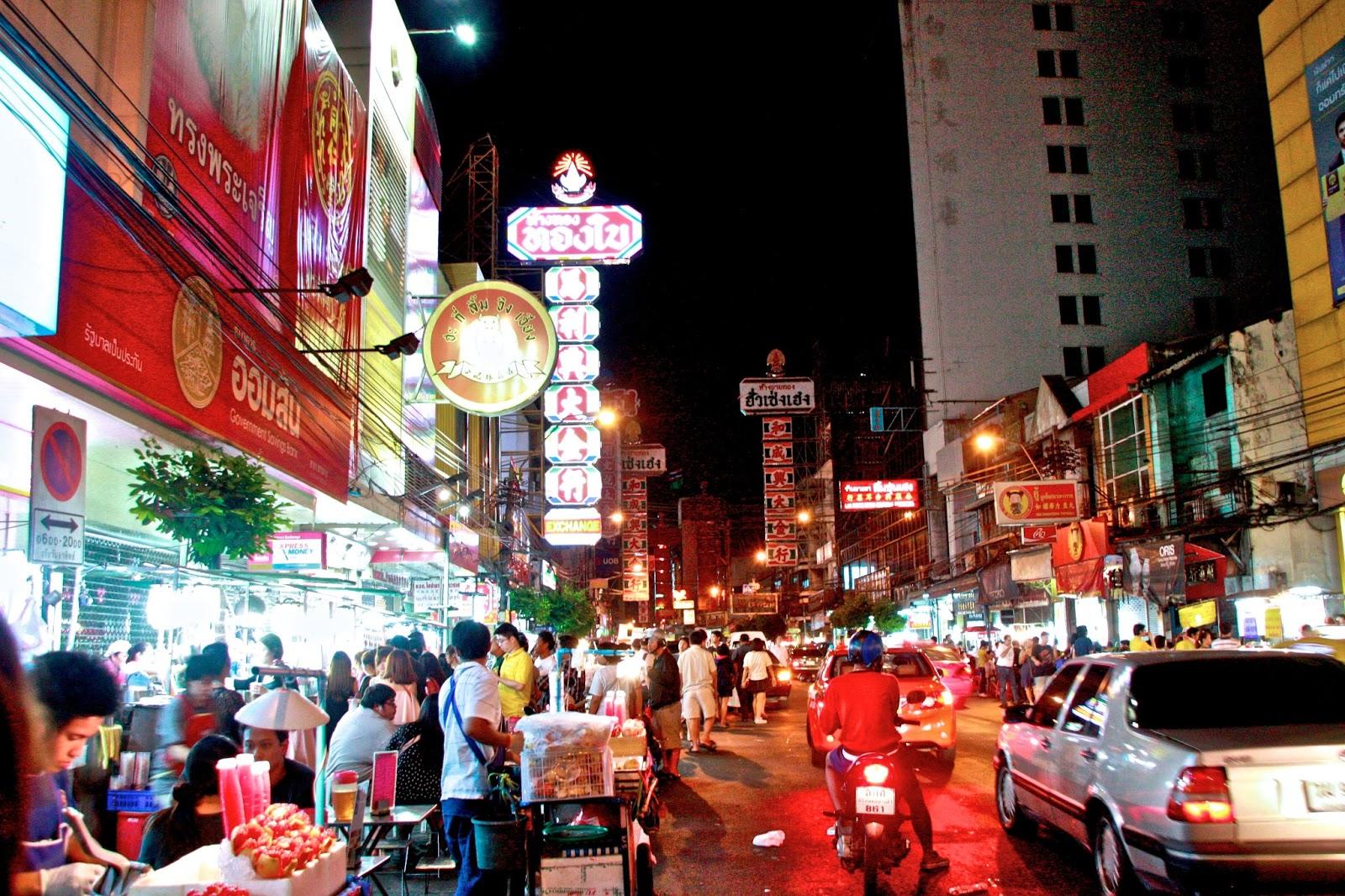 Image result for bangkok food street