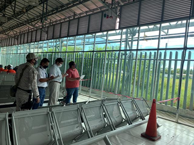 Personal de PEMEX en Yucatán y Campeche en el Segundo Macrosimulacro Nacional 2021