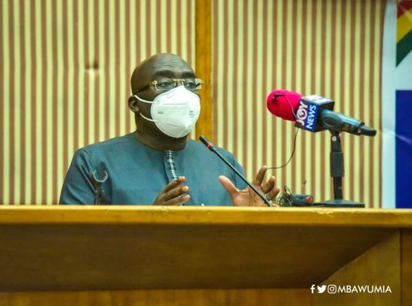 President Akufo-Addo's Sterling Leadership Saved Us From Covid Disaster - VP Bawumia