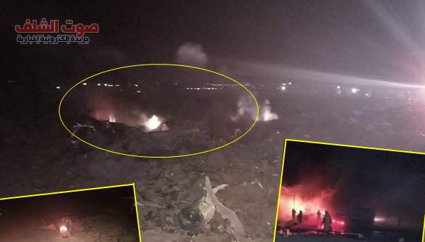 وفاة عسكريين إثنين إثر سقوط طائرة عسكرية بعين الزيتون