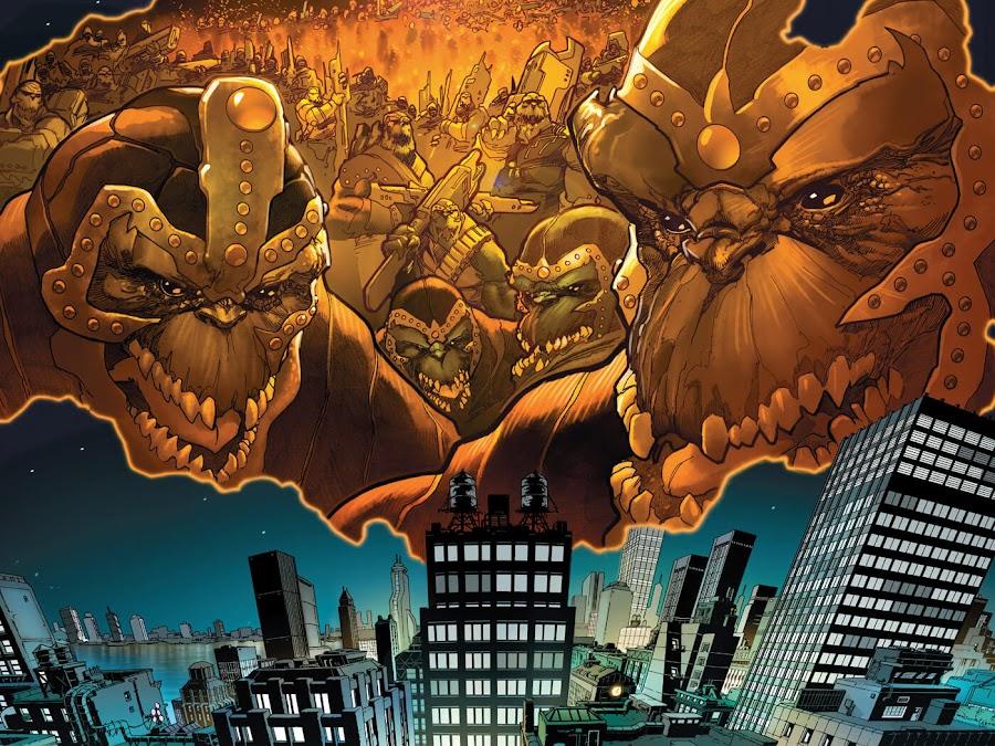 chitauri invasion avengers marvel comics