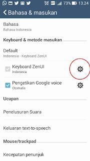 mematikan auto correct pada keyboard android