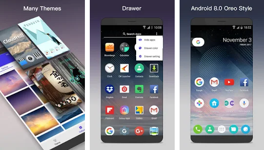 O Launcher 8 0 for Android™ O Oreo Launcher  APK - Launchers