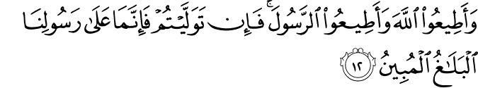 Surat At-Taghabun Ayat 12