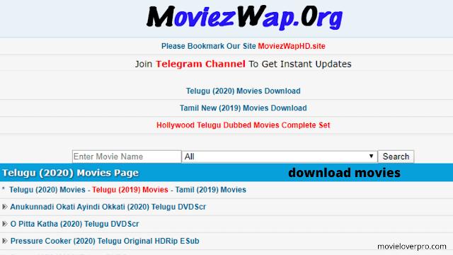 Moviezwap Website 2020: Download Latest Tamil, Telugu & Hindi Movies