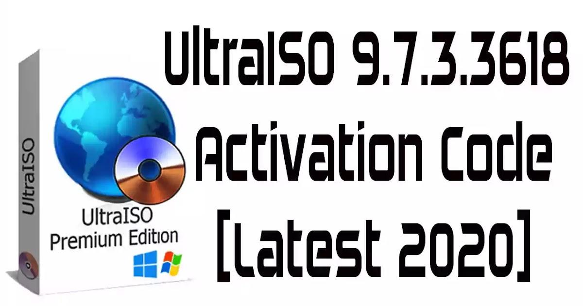 UltraISO Premium Edition 9.7.3.3618 Activation key [Latest ...