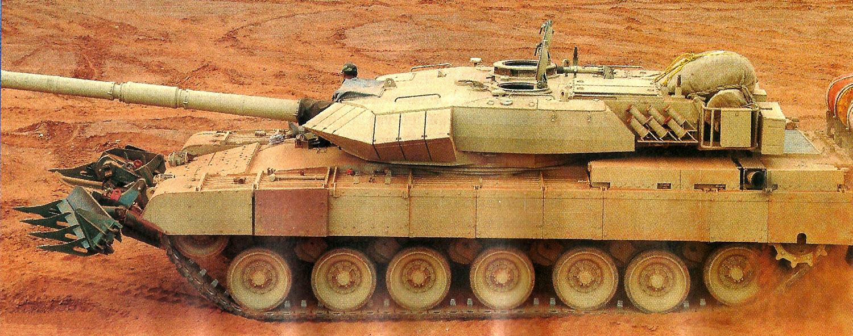 c26f4c4ea6ed TRISHUL  Arjun Mk1A During Mobility Trials