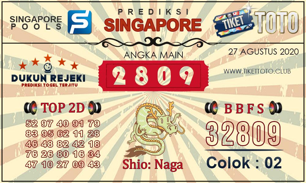 Prediksi Togel SINGAPORE TIKETTOTO 27 Agustus 2020