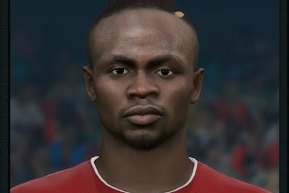 Sadio Mané Face (Liverpool) - PES 2017