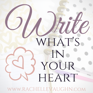 writing inspiration advice tips from romance author rachelle vaughn