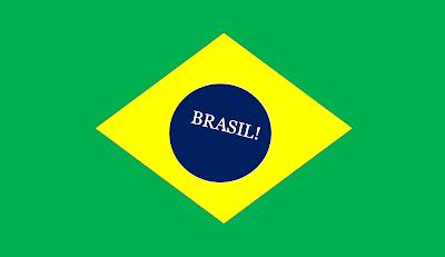 A imagem mostra a bandeira do Brasil! e representa uma nação sem esperança e acomodada.