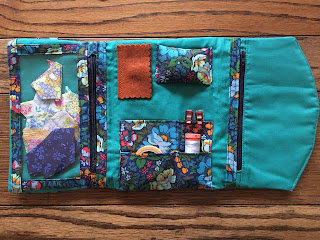 open sewing folio