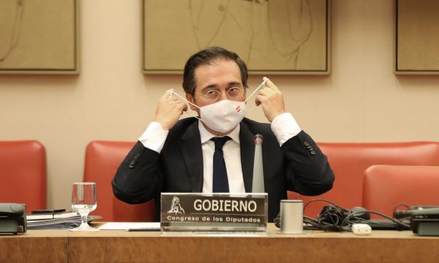 El ministro de exteriores de España se reunirá el miércoles con su homólogo marroquí por vía telemática.