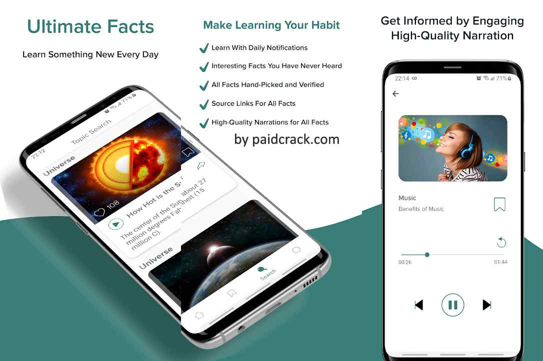Ultimate Facts - Did You Know? Premium Mod Apk 4.2.7