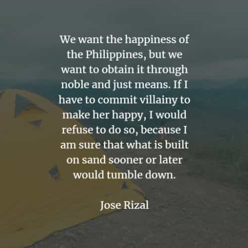 Famous quotes and sayings by Jose Rizal
