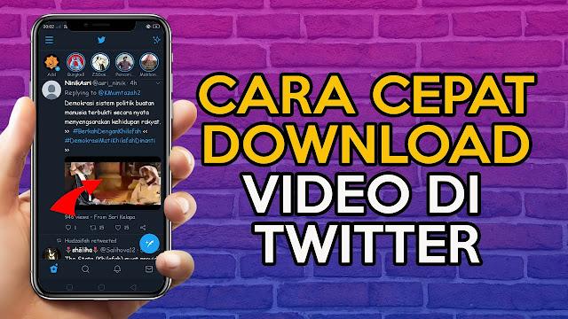 Cara Download Video Twitter Android, Mau Tau? Simak Yuk!