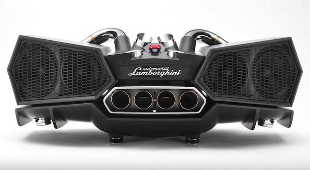 ランボルギーニとのコラボで誕生した高級スピーカー「iXOOST・ESAVOX」