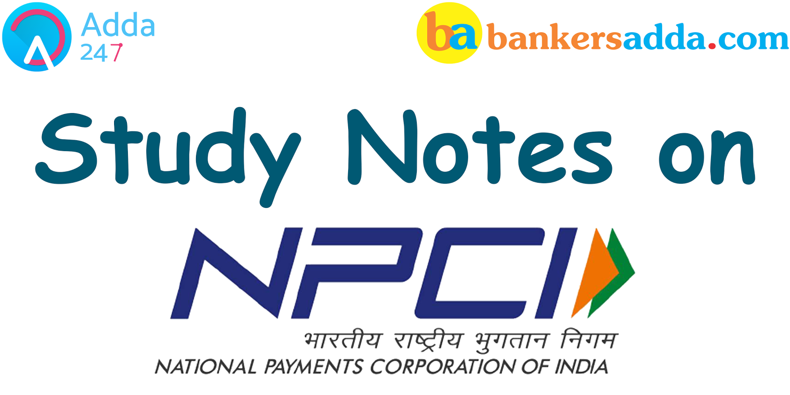 Banking Awareness Study Notes For Bank Exams