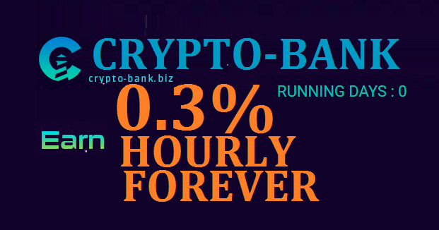 Bitcoin FORUM: CRYPTO-BANK investment REVIEW