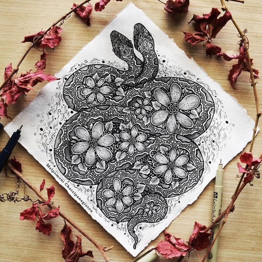 09-Flowers-and-snakes-Melpomeni-Chatzipanagiotou-www-designstack-co