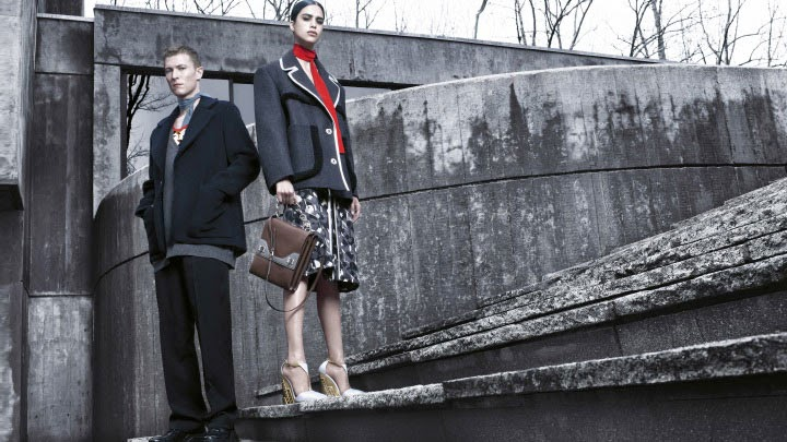 Prada's Fall/Winter 2014 Ad Campaign