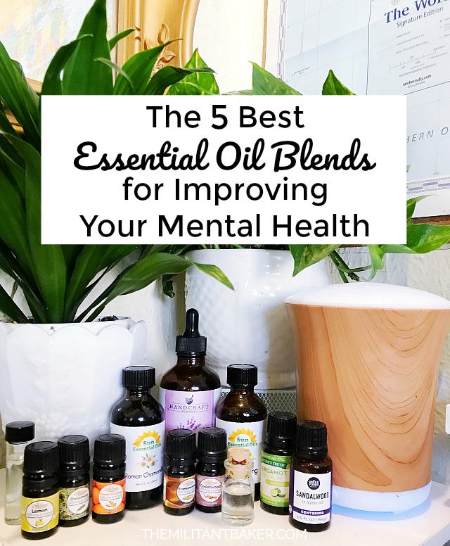 Essential My Health : essential, health, Essential, Blends, Improving, Mental, Health, Militant, Baker