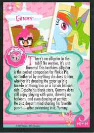 My Little Pony Gummy Series 1 Trading Card