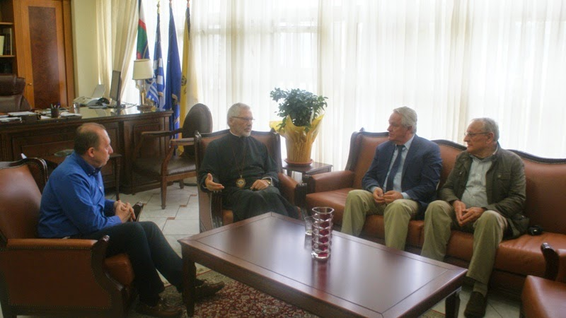 Ο  Σεβασμιότατος Μητροπολίτης  Τορόντο κ. Σωτήριος Επισκέφτηκε τον Αντιπεριφειάρχη Καστοριάς