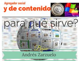 Agregador social y de contenido