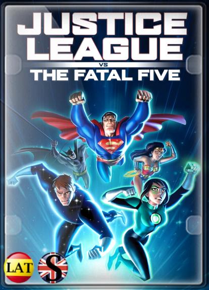 Liga de la Justicia: Los Cinco Fatales (2019) HD 720P LATINO/INGLES