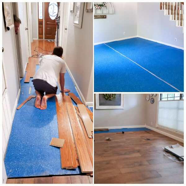 replacing wood floors