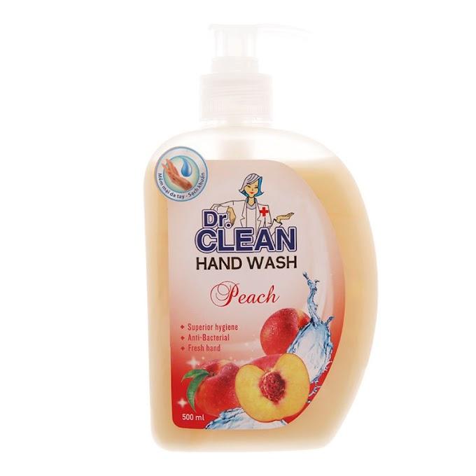 Sữa Rửa Tay Dr. Clean - Đào