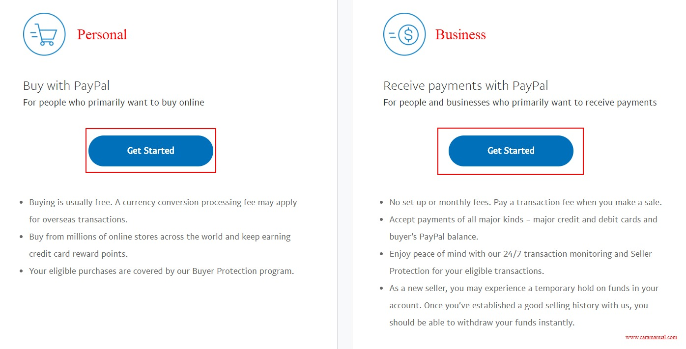 Cara Membuat PayPal Tanpa Kartu Kredit 1
