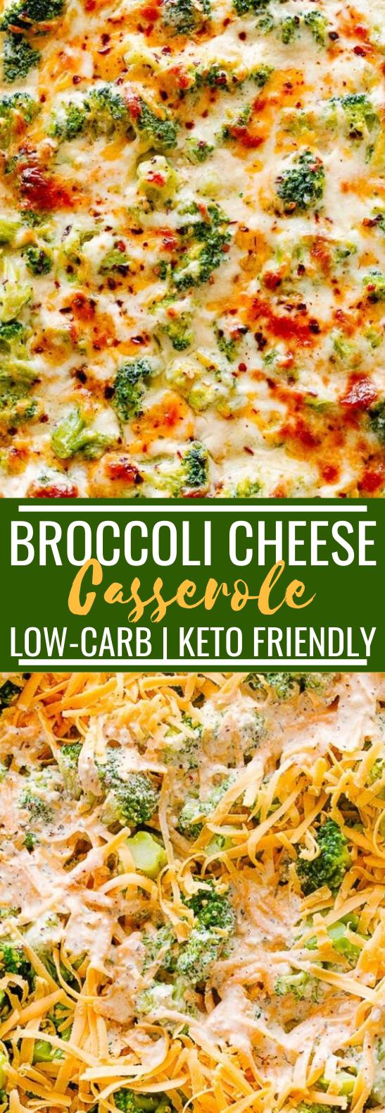 Broccoli Cheese Casserole #lowcarb #dinner #keto #recipes #casserole