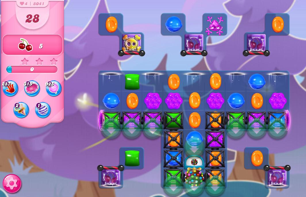 Candy Crush Saga level 8041