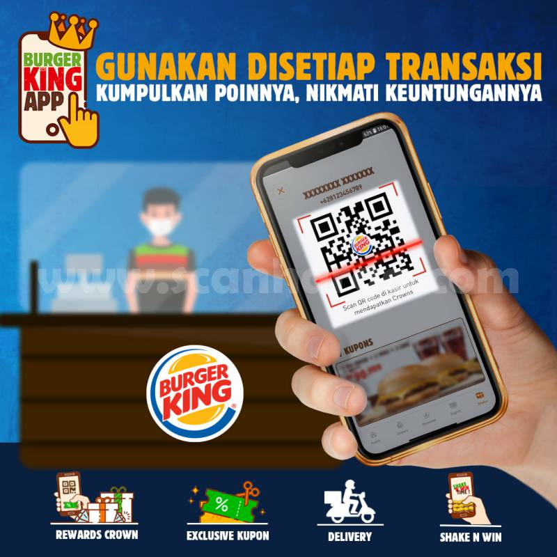 Promo BURGER KING ~ BK Fish Burger CUMA GOCENG