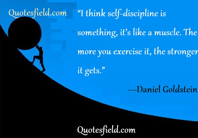 quotes on self-control and discipline