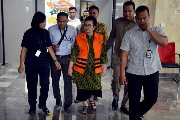 Siti Fadilah Supari Kembali Dijebloskan ke Penjara