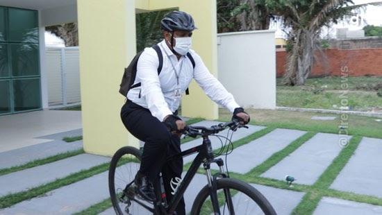juiz bicicleta trabalho gasolina bem estar
