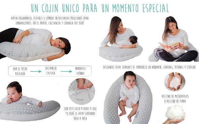 blog mimuselina cojín nido embarazada y cojín de lactancia beneficios embarazo