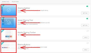 Cara menambahkan tombol widget share dalam blog